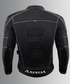 ASPIDA HELIOS CLASSIC MESH JACKET: Black