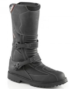 BUSE WATERPROOF BOOTS: Black