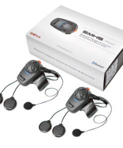 SENA SMH5 MOTORCYCLE BLUETOOTH AND INTERCOM: Dual Pack