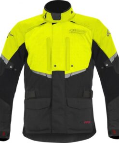 ALPINESTARS ANDES DRYSTAR JACKET: Black / Fluorescent Yellow