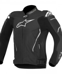 ALPINESTARS ATEM LEATHER JACKETS: Black