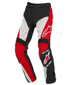 ALPINESTARS STRIKER PANTS: Black / White / Red