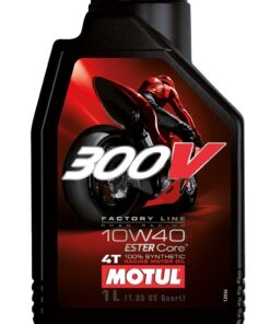 MOTUL 300V 10W40 FULL SYNTHETIC WITH DOUBLE ESTER - 1 Litre