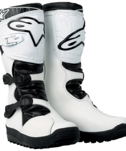 Alpinestars No Stop Trail Boots: White