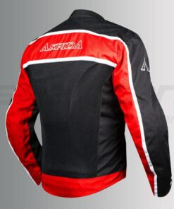 ASPIDA AURA MESH JACKET: Red