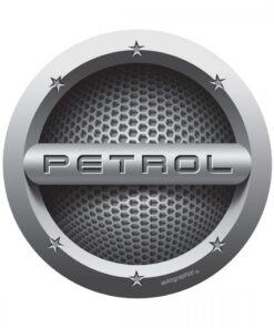 AUTO GRAPHIC PETROL CARS FUEL BADGE