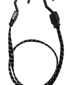 RYNOX GRIPPER REFLECTIVE BUNGEE STRAP: BLACK