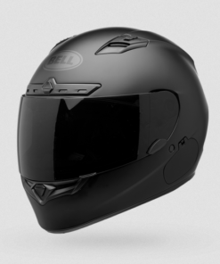 BELL QUALIFIER DLX BLACKOUT MATT HELMET: Black