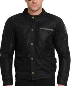LEIIDOR BRENT CROSS JACKETS: Black