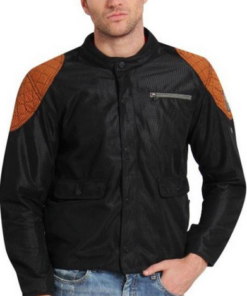 LEIIDOR BRENT CROSS JACKETS: Orange