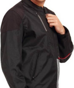 LEIIDOR GREENFOLD JACKETS: Black / White