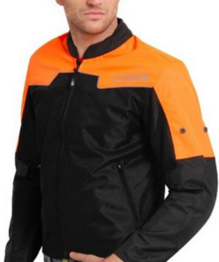 LEIIDOR VAUXHALL JACKETS: Black / Orange