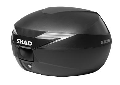 SHAD TOP CASE SH39: Carbon