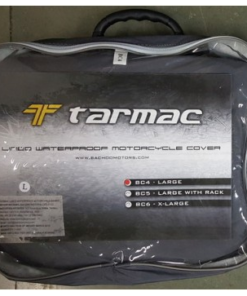 TARMAC WATERPROOF LINED MOTORCYCLE COVER: L size