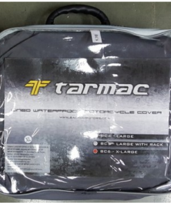 TARMAC WATERPROOF LINED MOTORCYCLE COVER: 2XL size