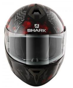 SHARK S600 PINLOCK PLAY GLOSS HELMET: BLACK / RED
