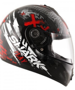 SHARK S600 PINLOCK PLAY GLOSS HELMET: BLACK / RED