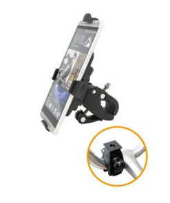 DIGIDOCK UNIVERSAL CRADLE FOR BIKE & MOTORBIKE MOBILE MOUNTS