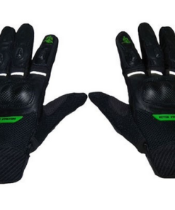 MOTOTECH URBANE SHORT CARBON GLOVES: Green