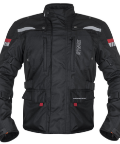RYNOX STEALTH EVO V3 L2 JACKET: Black