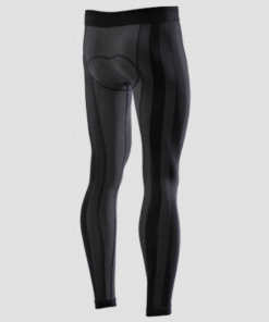 SIX2 PN2L LEGGINGS WITH BUTT PATCH: Black