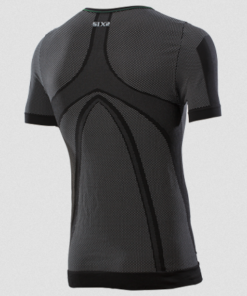 SIX2 TS1L T SHIRT SLEEVED: Black Carbon