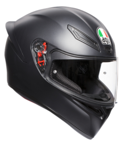 AGV K1 SOLID MATT HELMET: Black