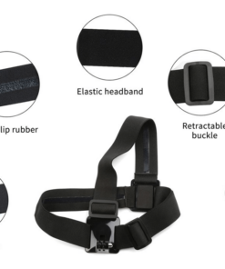 ACTIONCAMS 2 IN 1 CHEST STRAP MOUNT + HEAD STRAP MOUNT