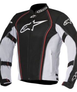ALPINESTARS BONNEVILLE AIR JACKET: Black / White / Red