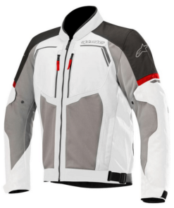 ALPINESTARS DURANGO AIR JACKET: Mid Grey / Dark Grey / Black / Red