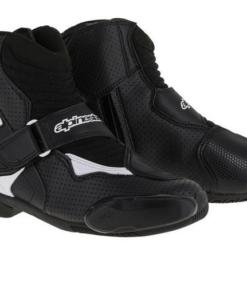 ALPINESTARS SMX-1 R VENTED BOOTS: Black / White