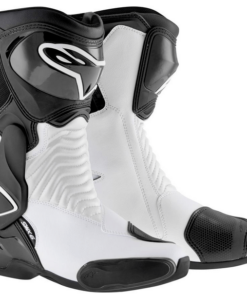 ALPINESTARS SMX-6 BOOTS: Black / White