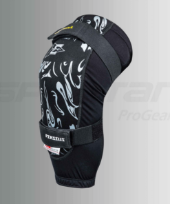 ASPIDA PERSEUS INTERNAL KNEE GUARDS: Black