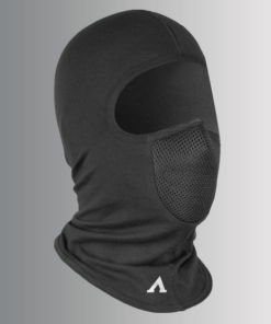 ASPIDA BALACLAVA COTTON: Black