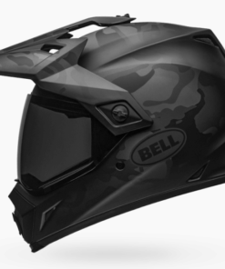 BELL MX-9 ADVENTURE MIPS STEALTH MATT HELMET: Camo Black