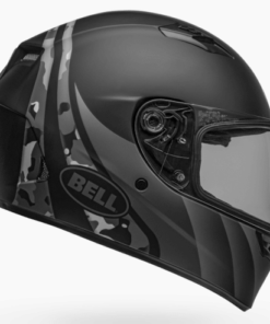 BELL QUALIFIER INTEGRITY MATT HELMET: Camo Black / Grey / Titanium