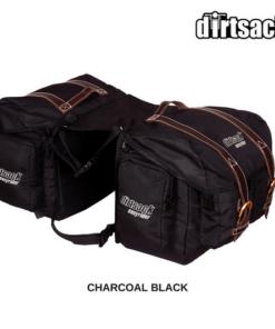 DIRTSACK LONGRANGER EASYRIDER SADDLE BAG: Black