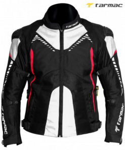 TARMAC CORSA JACKET:  Black / White / Red