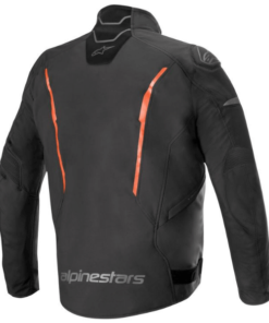 ALPINESTARS T-FUSE SPORT SHELL WATERPROOF JACKET: Black / Flur Red