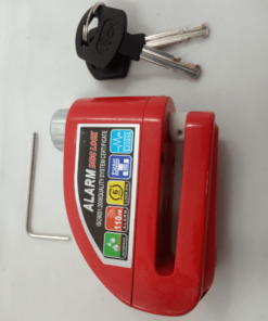 ALARM DISC LOCK: Red
