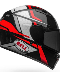 BELL QUALIFIER FLARE GLOSS HELMET: Black / Red