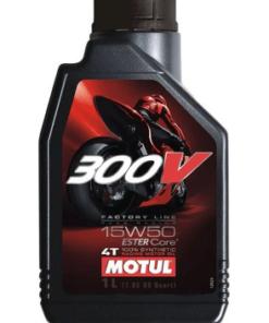 MOTUL 4T 300V 15W-50 SYNTHETIC ENGINE OIL: 1Ltr