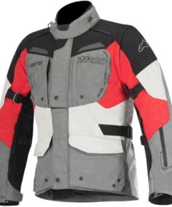 Alpinestars Durban Gore-Tex Jacket: Grey / Black / Red