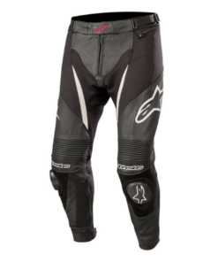 ALPINESTARS SPX AIRFLOW PANT - LEATHER / MESH: Black / White