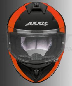 AXXIS DRAKEN MP4 MATT HELMETS: Fluorescent Orange /  Black