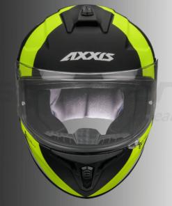AXXIS DRAKEN MP4 MATT HELMETS: Fluorescent Yellow / Black