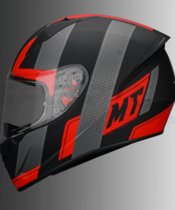 MT Stinger Affair Matt Helmet: Red
