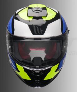 MT Blade 2 SV Trick Gloss Helmet: Fluorescent Yellow