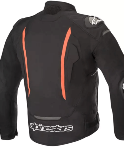 ALPINESTARS T-GP PRO V2 JACKET: Black / Fluorescent Red