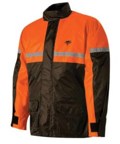 NELSON RIGG RAIN SUIT STORMRIDER: Black / Orange